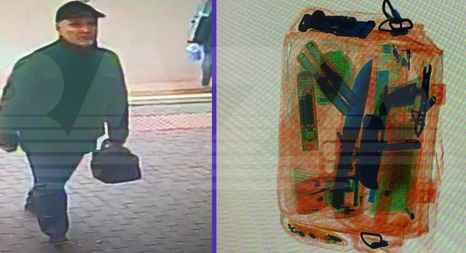 В Ростове-на-Дону задержали мужчину, который пытался пройти в местный Дом творчества с предметом, похожим на пистолет и большим ножом