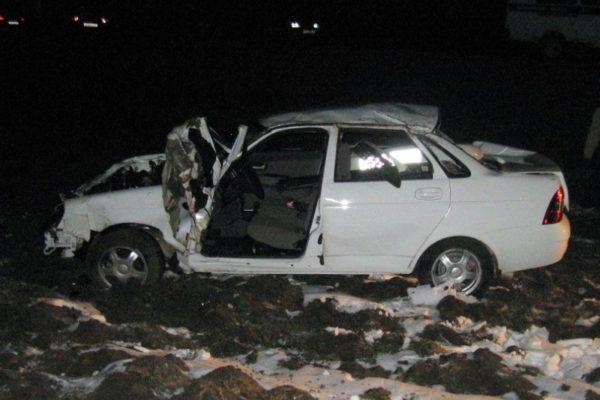 В Дагестане «Приора» рухнула в кювет, погиб мужчина