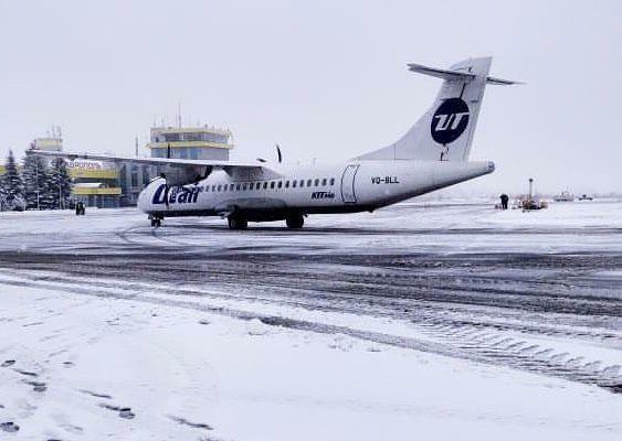 В Ставрополе приземлился первый самолет авиакомпании UTAir из Сочи