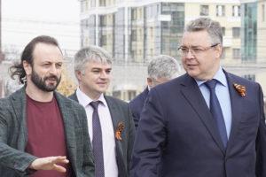 Илья Авербух побывал на Ставрополье с рабочим визитом