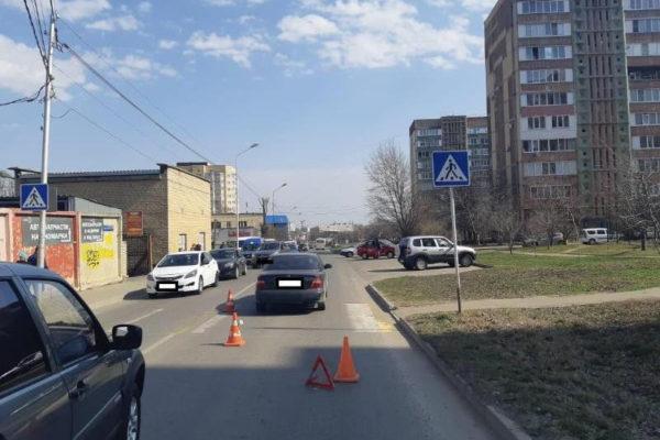 На пешеходном переходе в Ставрополе сбили школьника