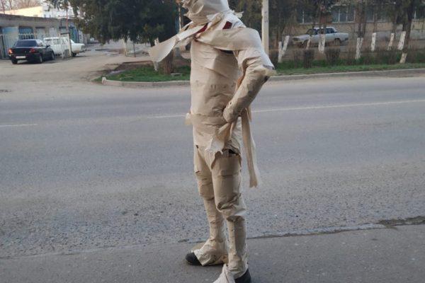 В Буденновске появился «Человек-антивирус»