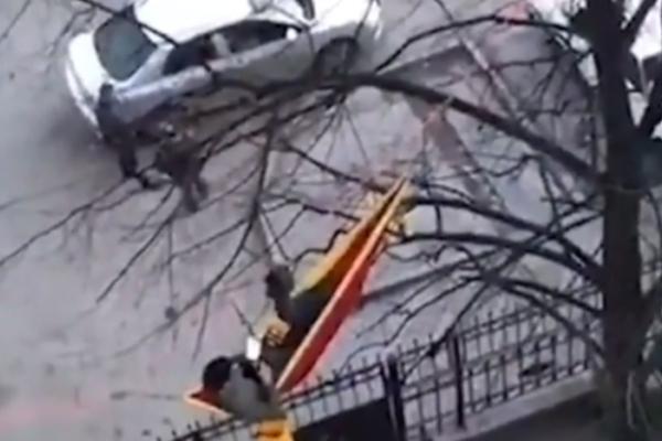 Пятигорский студент проводит изоляцию в гамаке на дереве