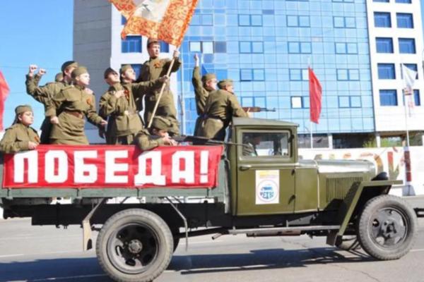 Грузовик с мелодиями военных лет проследует по улицам Ставрополя 9 мая