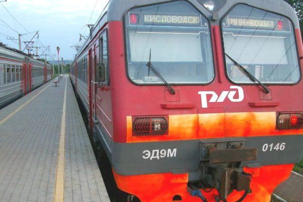 На Ставрополье появилась возможность оплаты билета в электричке картой