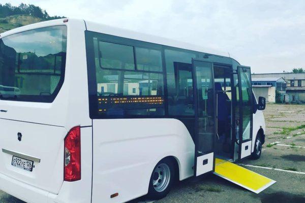 Современные и комфортабельные «маршрутки» выйдут на линию в Кисловодске