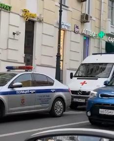 После громкой аварии в центре Москвы задержан водитель иномарки