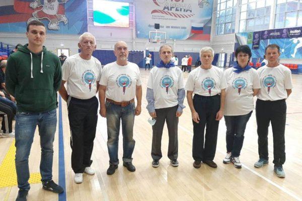 Второе место в краевой Спартакиаде ветеранов заняли спортсмены из Пятигорска