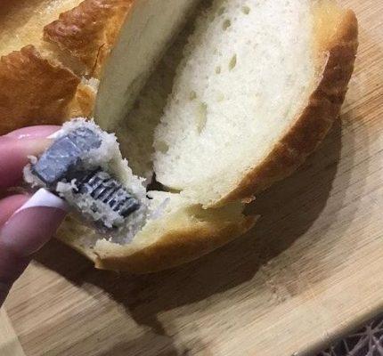 Ессентучанка нашла в хлебе болт
