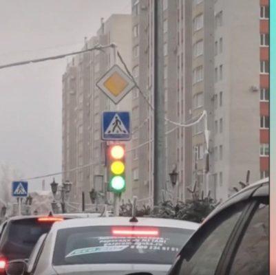 В Ставрополе появился «светомузыкальный» светофор