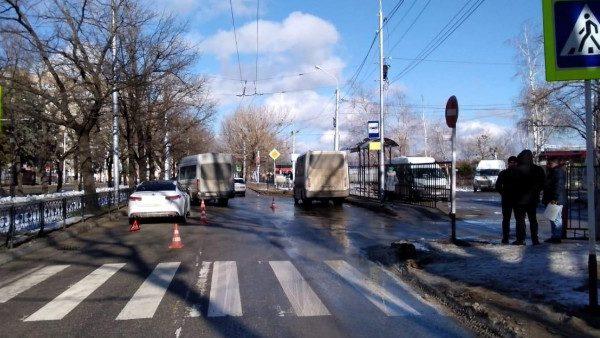 Водитель-штрафник сбил школьника в Ставрополе