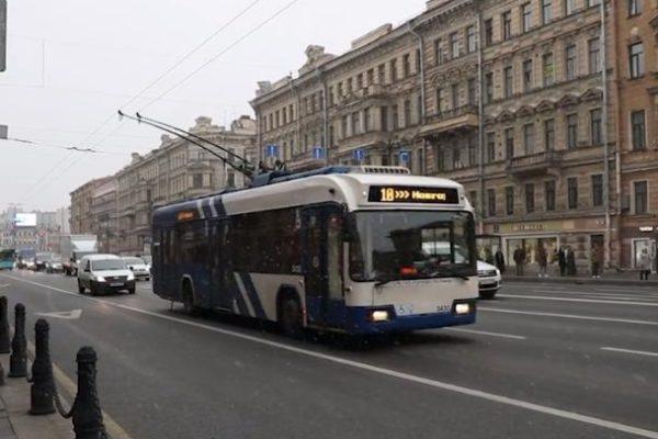 В Санкт-Петербурге пошел снег